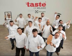 Foto gruppo chefs
